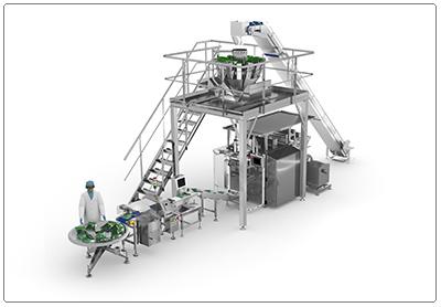 ULMA Packaging lanza un revolucionario sistema para el empacado de hierbas y ensaladas