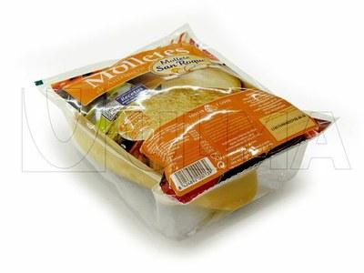 Empacado de pan mollete en termoformado