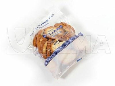 Empacado de pan tostado en vertical (vffs)