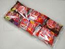 Empacado de multipack de bolsas de frituras en flow pack