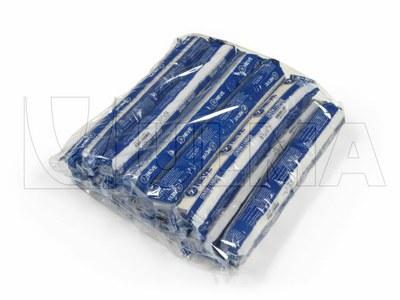 Empacado de agrupaciones de rollos de vendas en film polietileno de baja densidad (PEBD)