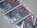 Empacado de tarjetas de telefonía en flow pack