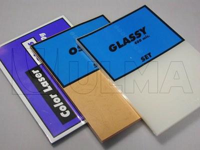 Empacado de material para fotocopistería en film retráctil